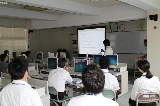 模擬授業風景