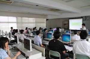 模擬授業風景01